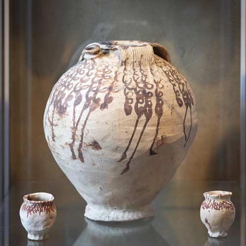 Keramikware aus Brühl Pingsdorf - Keramikmuseum Brühl