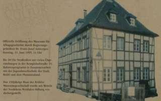 25 Jahre Museum für Alltagsgeschichte